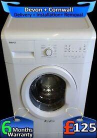 Fast 1200, Beko Washing machine, Rapid Wash, Big 7Kg, A+, Factory Refurbished inc 6 Months Warranty