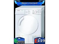 Bosch Vented Tumble Dryer, Touch Control, 7Kg Big Drum, Fully Refurbished inc 6 Months Warranty