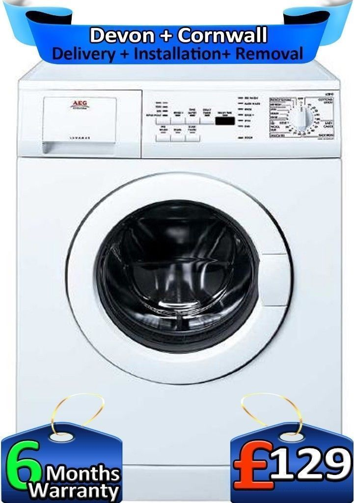 AEG Washing Machine, LCD, Top Spec, Fast 1200, Rapid Wash, Factory Refurbished inc 6 Months Warranty