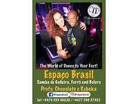 Samba and forró private classes and event
