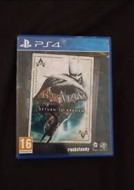 Batman - Return To Arkham PS4