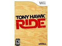 4 wii games, tony hawk, FIFA, Chicken little and mario kart