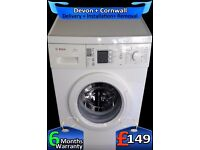 Bosch Big 7Kg Drum, Touch Control, Fast 1400, Many Options, Fully Refurbished inc 6 Months Warranty