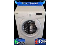Large 7Kg, Fast 1400, LCD, Hoover Washing Machine, A+ Rated, Fully Refurbished inc 6 Months Warranty