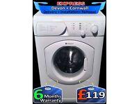 Ariston 7Kg Large Drum Washing Machine, 1200, Quick Wash, Fully Reconditioned inc 6 Months Warranty