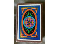 VINTAGE FOURNIER PLAYING CARDS - ART DECO DESIGN