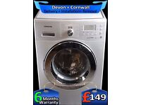 Big 7Kg Drum, Samsung Eco-Bubble, Fast 1200 spin, A+ Rated, Fully Refurbished inc 6 Months Warranty