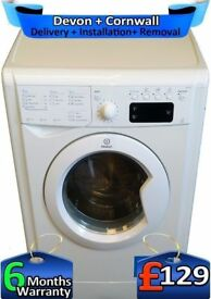 Fast 1400, Big 7Kg, A+, Full LCD, Indesit Washing Machine, Factory Refurbished inc 6 Months Warranty