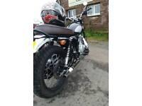 250cc Retrostar motorcycle