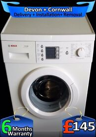 Top Range Bosch, Large LCD, Fast Wash, Fast 1400, A+ Rated, Fully Refurbished inc 6 Months Warranty