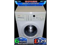 Fast Bosch Washing Machine, Aqua Plus, Touch Sensitive, Fully Reconditioned inc 6 Months Warranty