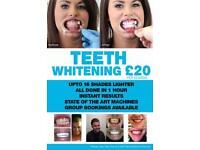 TEETH WHITENING £20, FULL HEAD COLOUR £50