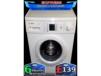 Full Lcd Bosch A+ Rated washing Machine, Fast 1200, Fully Reconditioned inc 6 Months Warranty