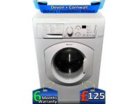 Rapid Wash, 7KG, LCD, Fast 1400, Hotpoint Washing Machine, Factory Refurbished inc 6 Months Warranty