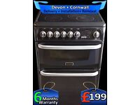 Cannon Top Quality, Double Oven, Fully Auto, Fan Assisted, Fully Refurbished inc 6 Months Warranty