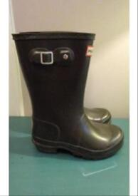 Size 12 junior Hunter Wellies