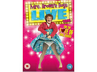 MRS BROWNS BOYS LIVE DVD'S