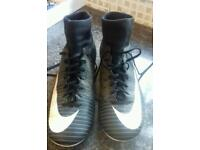 Nike sock boots size 5 football boots