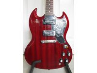 Epiphone Limited Edition 50th Anniversary 1961 SG Special Electric Guitar with gigbag