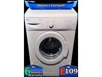 Time Saver, Slimline Washing Machine, Beko 5kg, White, Fully Refurbished inc 6 Months Warranty