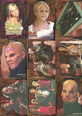 Buffy The Vampire Slayer Season 3 Full 90 Card Base Set of Trading Cards