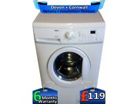 6Kg Drum, Zanussi Washing Machine, Fast Wash, 1200 Spin, Factory Refurbished inc 6 Months Warranty