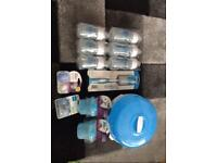 Dr brown steriliser & bottles