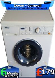 1200 Spin, Miele Washing Machine, Express Wash, Top Tech, Factory Refurbished inc 6 Months Warranty