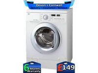 Big 7.5Kg, 1200,LG Washing Machine, No Belt, Direct Drive, Factory Refurbished inc 6 Months Warranty