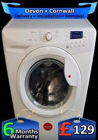 Hoover A+ Fast 1400, Big 8Kg Family Drum, Washing Machine, Fully Reconditioned inc 6 Months warranty