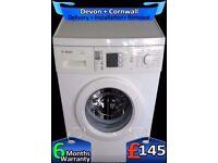Bosch Aqua-Spa Washing Machine, Touch Control, Fast 1400, Fully Refurbished inc 6 Months Warranty