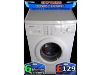 Bosch Washing Machine, Bargain, Fast 1200, Touch Control, Fully Reconditioned inc 6 Months Warranty