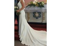 Royal Wedding Inspired size 10 Ariel Wedding dress, very little alterations and superbly comfortable