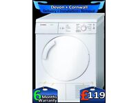 Touch Control, 7Kg Big Drum, Bosch Vented Tumble Dryer, Fully Refurbished inc 6 Months Warranty
