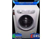7.5KG Aqualtis, Hotpoint Washing Machine, Fast Wash, A+, Fully Refurbished inc 6 Months Warranty