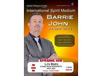 Mediumship Demonstration with International TV Medium - Barrie John