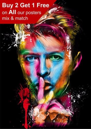 David Bowie Poster Print A5 A4 A3 A2 A1