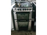 6 MONTHS WARRANTY Zanussi 50cm, double oven electric cooker FREE DELIVERY