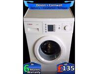 Big 7Kg, Fast Wash, A+, Top Bosch Washing Machine, Big LCD, Fully Refurbished inc 6 Months Warranty