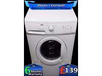 Fast 1200, Flexi-Dose, Zanussi Washing Machine, Huge 8Kg, Fully Refurbished inc 6 Months Warranty