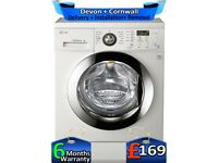 LG Direct Drive, No Belt, 8Kg, Silent, A+, LCD, Top Spec, Factory Refurbished inc 6 Months Warranty