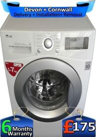 Fast Wash, LG Washing Machine, No Belt, Big 7Kg, Top Tech, Factory Refurbished inc 6 Months Warranty