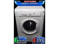 Hotpoint 6Kg Aquarius Washing Machine, Quick Wash, Fully Reconditioned inc 6 Months Warranty