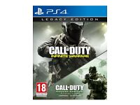 CALL OF DUTY INFINITE WARFARE LEGACY EDITION GAMES SEALED