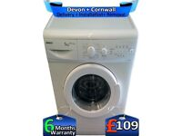 5Kg Load, Beko Washing Machine, Slimline, Many Programs, Factory Refurbished inc 6 Months Warranty