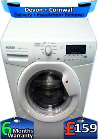 Hoover Washing Machine, Huge 9KG, 1400, A+, Fast Wash, Factory Refurbished inc 6 Months Warranty