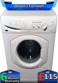 Fast 1400, Fast Wash, Hotpoint Washing Machine, 6KG Load, Factory Refurbished inc 6 Months Warranty