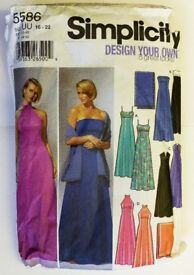 """"""" Simplicity Design your own Vintage Pattern 5586 """""""