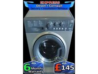 Big Drum 8kg, Top Hotpoint Washing Machine, Fast Wash, Fully Reconditioned inc 6 Months Warranty