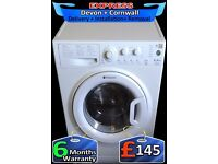 A++ Rated, Fast 1350, Hotpoint 8Kg Mega drum, Quick Wash, Fully Reconditioned inc 6 Months Warranty